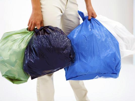 Disposing of rubbish